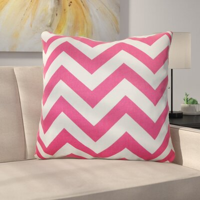 Burd Zigzag Floor Pillow Color: Candy Pink