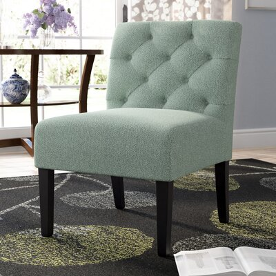 Lashbrook Slipper Chair Upholstery: Mint