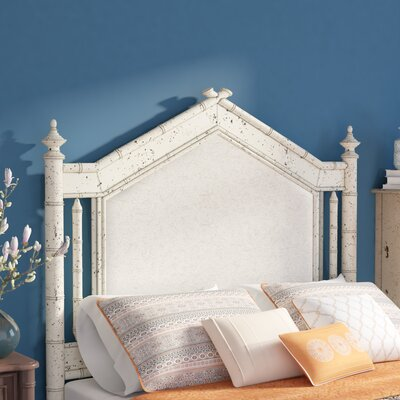 Harrouda Panel Headboard Size: Queen, Color: White
