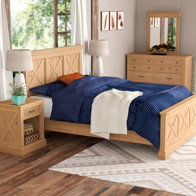 Burbury Country Lodge Panel Configurable Bedroom Set Size: Queen