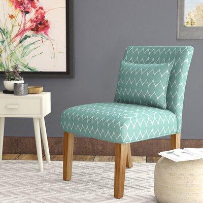 Blackmore Slipper Chair Upholstery: Teal