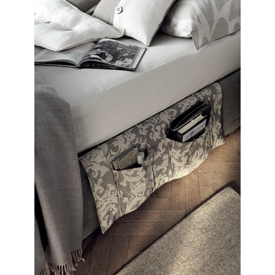 Amami Upholstered Panel Bed Size: King, Color: Gray