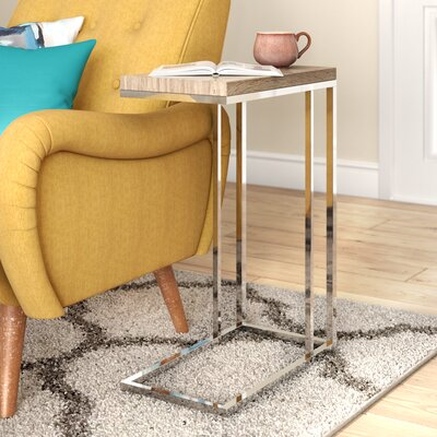 Corona End Table Color: Brown