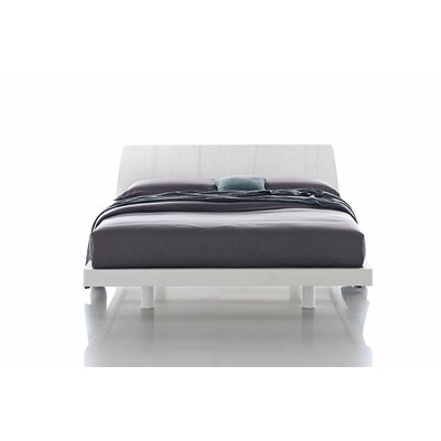 Roger Upholstered Platform Bed Size: Queen, Color: Silver