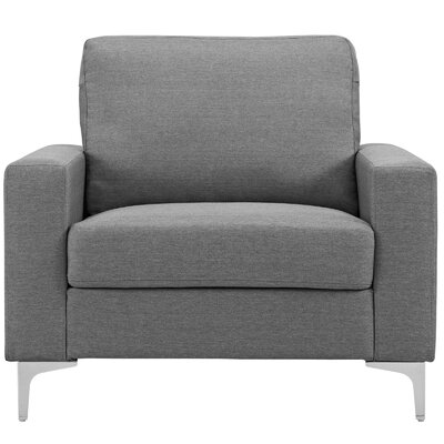 Hollander Armchair Upholstery: Gray