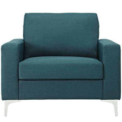 Hollander Armchair Upholstery: Blue