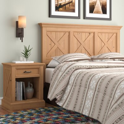 Burbury Country Lodge Panel 2 Piece Bedroom Set Size: King