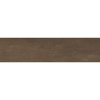 Helena Java 6 x 40 Porcealian Wood Look Tile in Brown