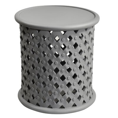 Keller End Table Color: Gray