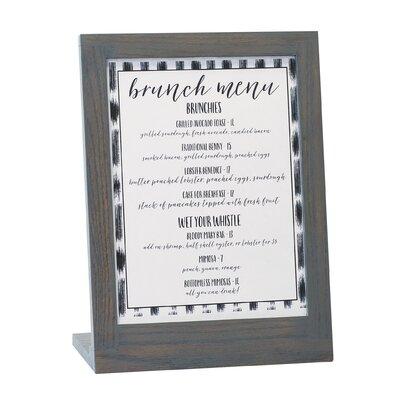 Ashwood Cardholder Frame Size: 11 H x 9 W x 4 D