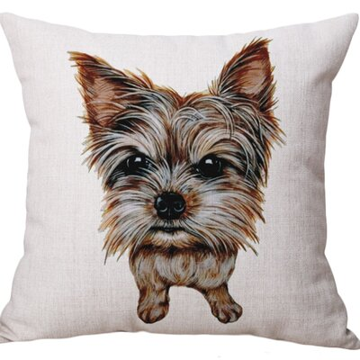 Hibbard Cotton Blend Pillow Cover