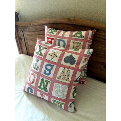 Dille Cotton Blend Pillow Cover