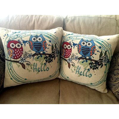 Heidenreich Cotton Blend Pillow Cover