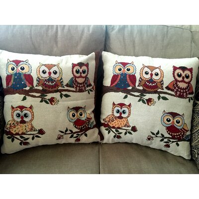 Heider Cotton Blend Pillow Cover