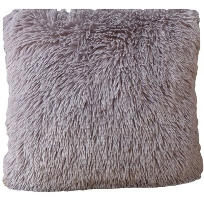 Del Rey Oaks Cotton Blend Pillow Cover Color: Gray