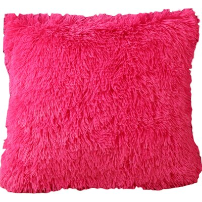 Del Rey Oaks Cotton Blend Pillow Cover Color: Hot Pink