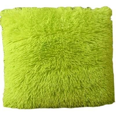 Mcconkey Pillow Cover Color: Lime Green