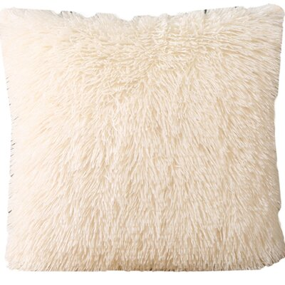 Del Rey Oaks Cotton Blend Pillow Cover Color: Off White