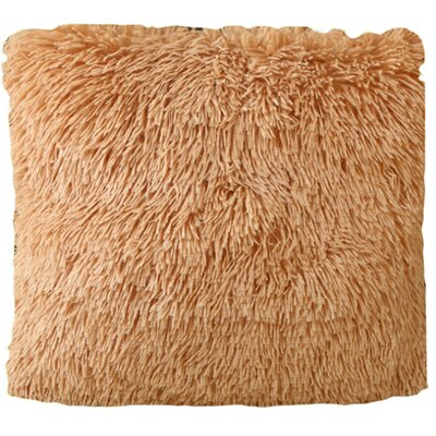 Mcconkey Pillow Cover Color: Tan