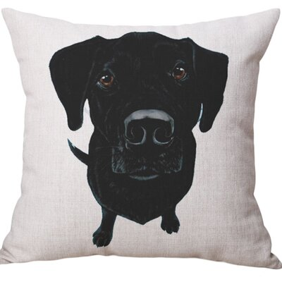 Hertzler Cotton Blend Pillow Cover