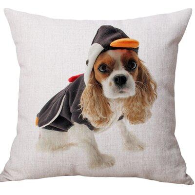 Herzig Cotton Blend Pillow Cover
