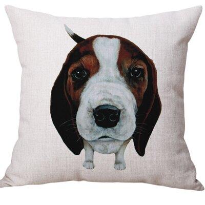Heskett Cotton Blend Pillow Cover