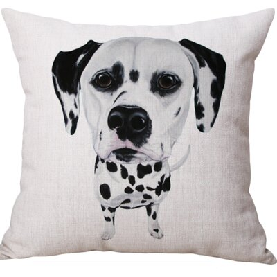 Heslin Cotton Blend Pillow Cover