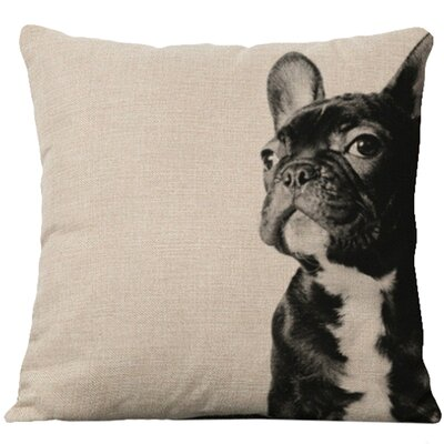 Hession Cotton Blend Pillow Cover