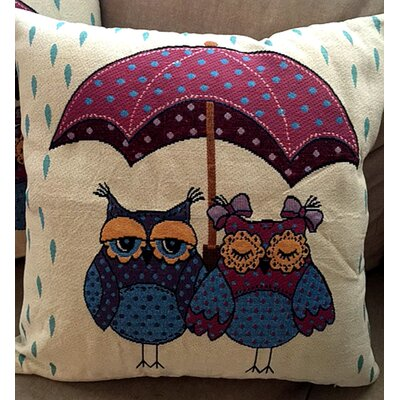 Heideman Cotton Blend Pillow Cover