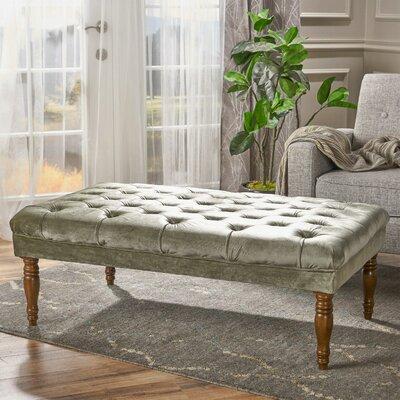 Bridge Cocktail Ottoman Upholstery: Pistachio