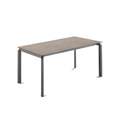 Energy Extendable Dining Table Base Color: Anthracite, Top Color: Dark