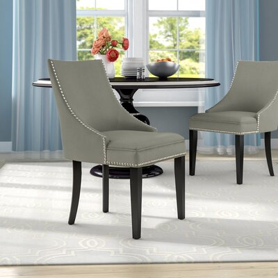 Katherina Upholstered Dining Chair Color: Granite