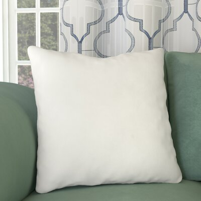 Square Pillow Insert Size: 18 H x 18 W x 4 D