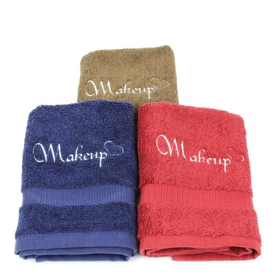 Jarboe Makeup Remover Washcloth Color: Cocoa