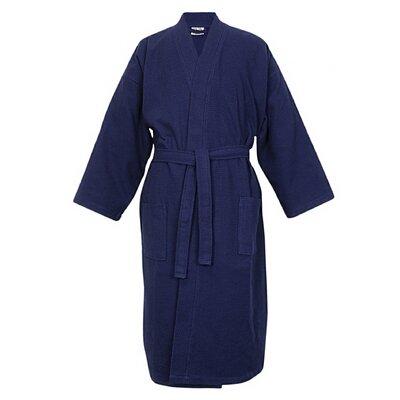 100% Turkish Cotton Waffle Kimono Bathrobe