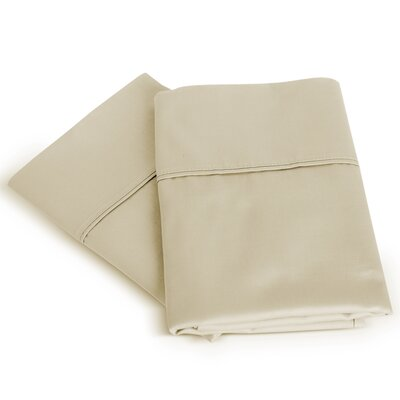 Isiah Cotton Pillow Case Color: Beige