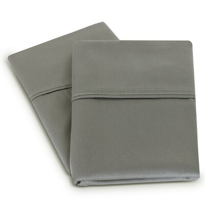 Isiah Cotton Pillow Case Color: Gray
