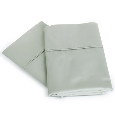 Isiah Cotton Pillow Case Color: Light Gray