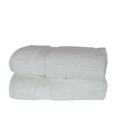 Wellston Rayon Bath Towel Color: White
