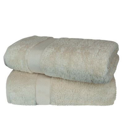 Wellston Rayon Bath Towel Color: Beige