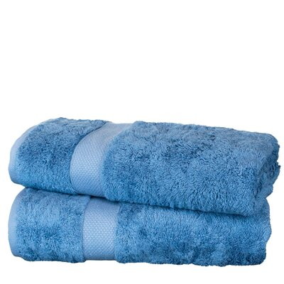Wellston Rayon Bath Towel Color: Wedgewood