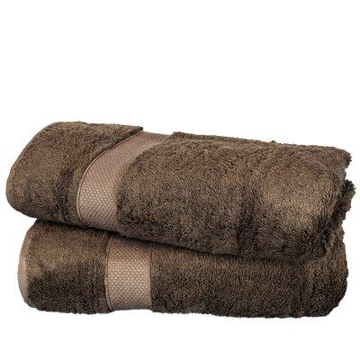 Wellston Rayon Bath Towel Color: Cocoa
