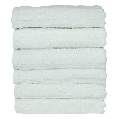 Mckenzie 100% Turkish Cotton Washcloth Color: White