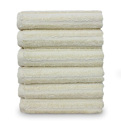 Mckenzie 100% Turkish Cotton Washcloth Color: Beige