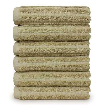 Mckenzie 100% Turkish Cotton Washcloth Color: Driftwood