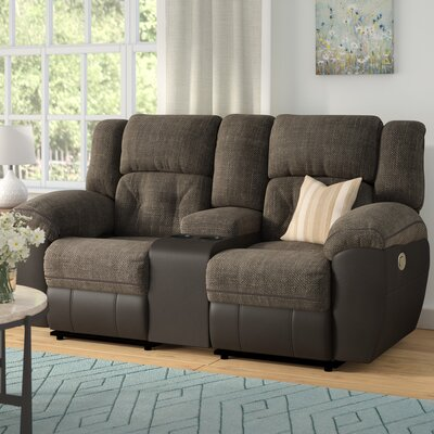Simmons George Double Motion Reclining Loveseat Type: Manual