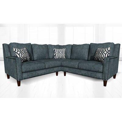 Mervela Sectional Upholstery: Luxor Charcoal