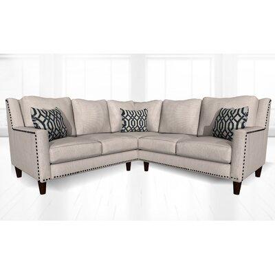 Mervela Sectional Upholstery: Crosby Pearl