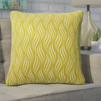 Defino Throw Pillow Color: Yellow