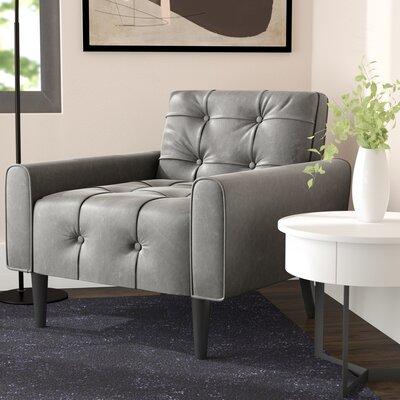Hooper Club Chair Upholstery: Gray